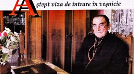 """Avram Petric: """"Aștept viza de intrare în veșnicie…"""""""