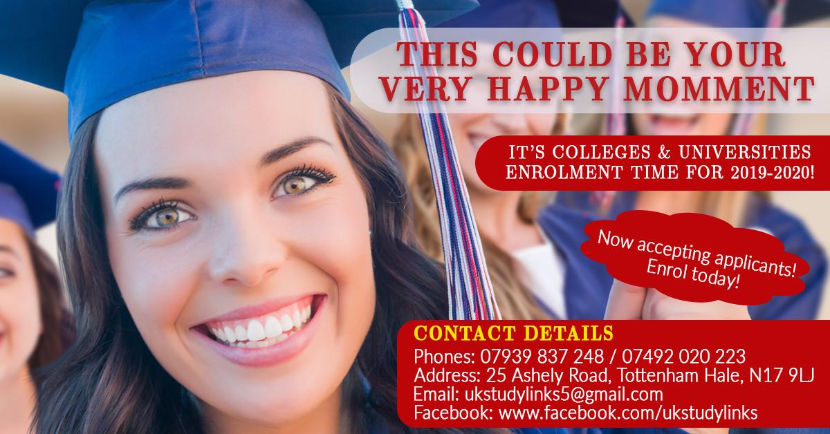 Inscrieri la colegii si universitati din Marea Britanie!